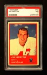 1963 Fleer #40  Jim Norton  Front Thumbnail