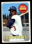 1969 Topps #65  Willie Davis  Front Thumbnail