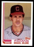1982 Topps #77  Miguel Dilone  Front Thumbnail