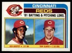 1982 Topps #756   -  Tom Seaver / Ken Griffey Reds Leaders Front Thumbnail