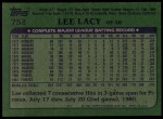 1982 Topps #752  Lee Lacy  Back Thumbnail