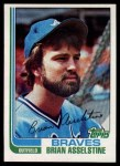 1982 Topps #214  Brian Asselstine  Front Thumbnail