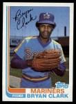 1982 Topps #632  Bryan Clark  Front Thumbnail