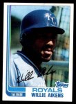1982 Topps #35  Willie Aikens  Front Thumbnail