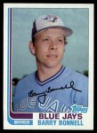 1982 Topps #99  Barry Bonnell  Front Thumbnail
