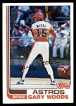 1982 Topps #483  Gary Woods  Front Thumbnail