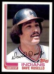 1982 Topps #724  Dave Rosello  Front Thumbnail