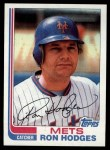1982 Topps #234  Ron Hodges  Front Thumbnail