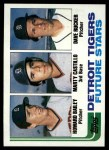 1982 Topps #261   -  Marty Castillo / Howard Bailey / Dave Rucker Tigers Rookies Front Thumbnail