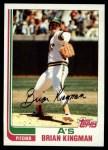 1982 Topps #476  Brian Kingman  Front Thumbnail