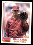 1982 Topps #581  Ron Reed  Front Thumbnail