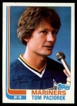 1982 Topps #678  Tom Paciorek  Front Thumbnail