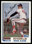 1982 Topps #199  Don Aase  Front Thumbnail