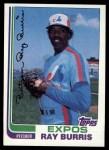 1982 Topps #227  Ray Burris  Front Thumbnail