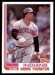 1982 Topps #746  Andre Thornton  Front Thumbnail