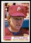 1982 Topps #384  Keith Moreland  Front Thumbnail