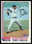 1982 Topps #444  Terry Forster  Front Thumbnail