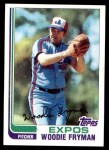 1982 Topps #788  Woody Fryman  Front Thumbnail