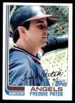 1982 Topps #602  Fred Patek  Front Thumbnail