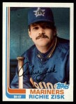 1982 Topps #769  Richie Zisk  Front Thumbnail