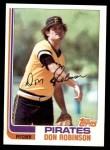 1982 Topps #332  Don Robinson  Front Thumbnail