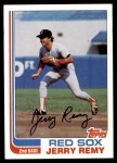 1982 Topps #25  Jerry Remy  Front Thumbnail