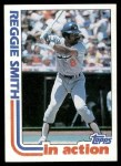 1982 Topps #546   -  Reggie Smith In Action Front Thumbnail