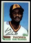 1982 Topps #708  Gene Richards  Front Thumbnail