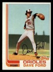 1982 Topps #174  Dave Ford  Front Thumbnail