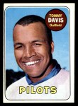 1969 Topps #135  Tommy Davis  Front Thumbnail