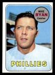 1969 Topps #28  Mike Ryan  Front Thumbnail