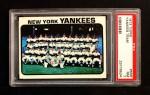 1973 Topps #556   Yankees Team Front Thumbnail