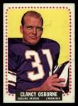 1964 Topps #149  Clancy Osborne  Front Thumbnail
