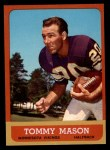 1963 Topps #99  Tommy Mason  Front Thumbnail