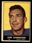 1961 Topps #33  Jim Gibbons  Front Thumbnail