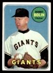 1969 Topps #505 YN Bobby Bolin  Front Thumbnail