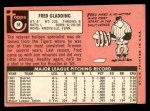 1969 Topps #58  Fred Gladding  Back Thumbnail