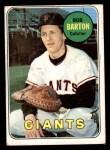 1969 Topps #41  Bob Barton  Front Thumbnail