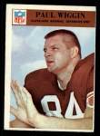 1966 Philadelphia #51  Paul Wiggin  Front Thumbnail