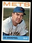 1964 Topps #566  Ed Kranepool  Front Thumbnail