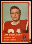 1963 Fleer #4  Jim Colclough  Front Thumbnail