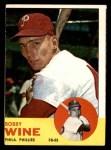 1963 Topps #71  Bobby Wine  Front Thumbnail