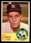 1963 Topps #264  Phil Linz  Front Thumbnail