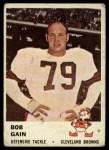 1961 Fleer #19  Bob Gain  Front Thumbnail