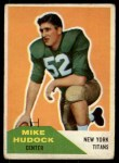 1960 Fleer #23  Mike Hudock  Front Thumbnail
