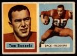 1957 Topps #110  Tom Runnels  Front Thumbnail