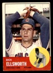 1963 Topps #399  Dick Ellsworth  Front Thumbnail