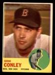 1963 Topps #216  Gene Conley  Front Thumbnail