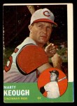 1963 Topps #21 *BLU* Marty Keough  Front Thumbnail