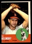 1963 Topps #33  Bo Belinsky  Front Thumbnail